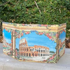 Trifold Italy photo frame display picture scenery